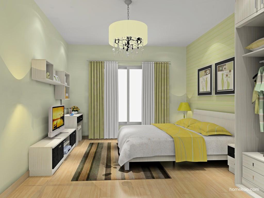 米兰剪影卧房家具A16187