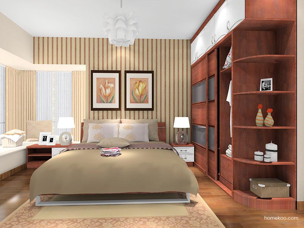 挪威月色卧房家具A16189
