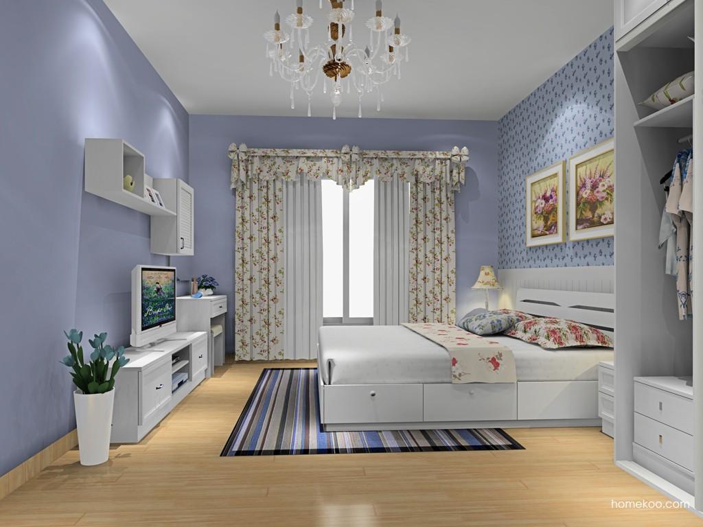 韩式田园卧房家具A16191