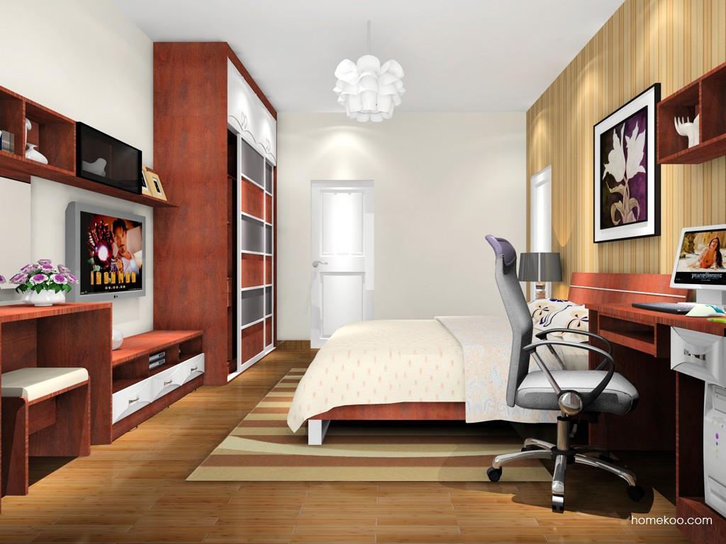 挪威月色卧房家具A16203
