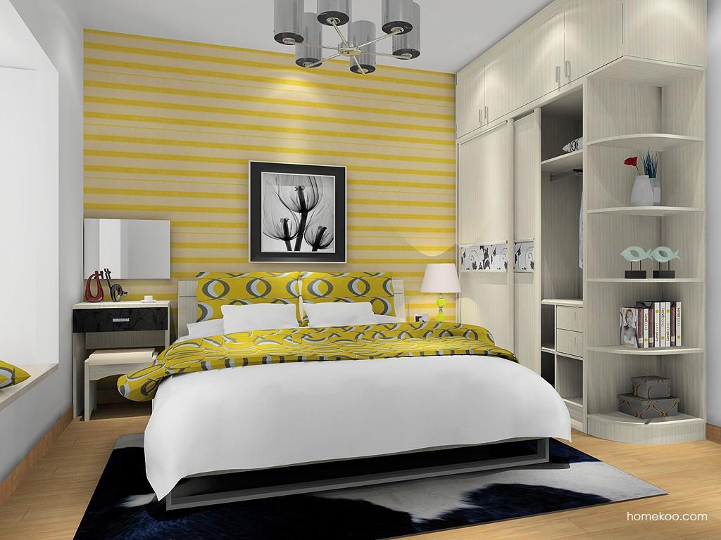 米兰剪影卧房家具A16220