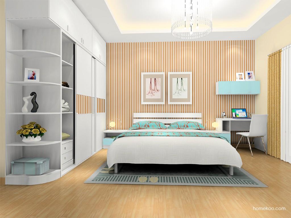 浪漫主义卧房家具A16223