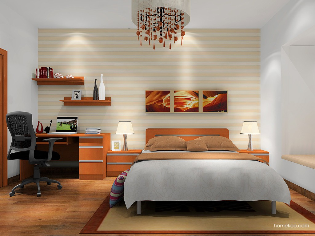 加州梦卧房家具A16226