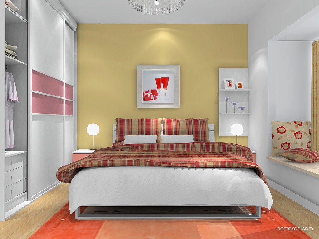 浪漫主义卧房家具A16228