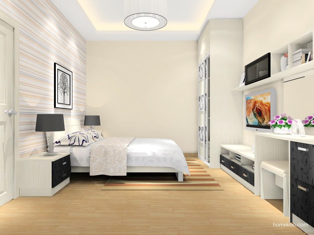 米兰剪影卧房家具A16232