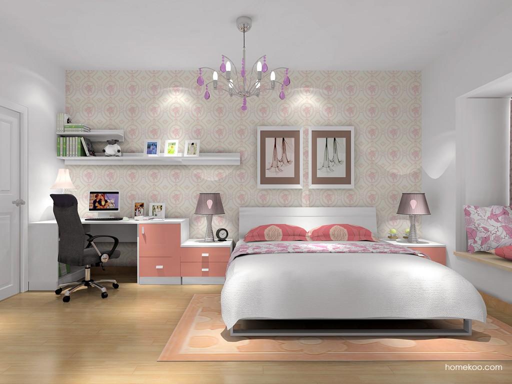 浪漫主义卧房家具A16233