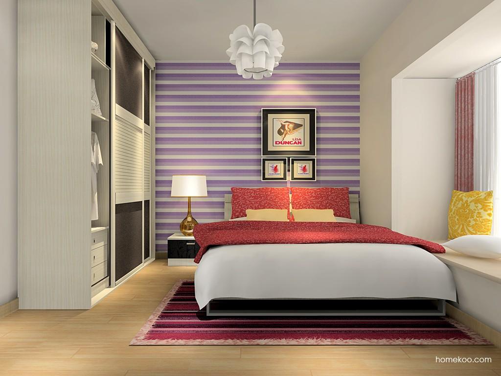 米兰剪影卧房家具A16246