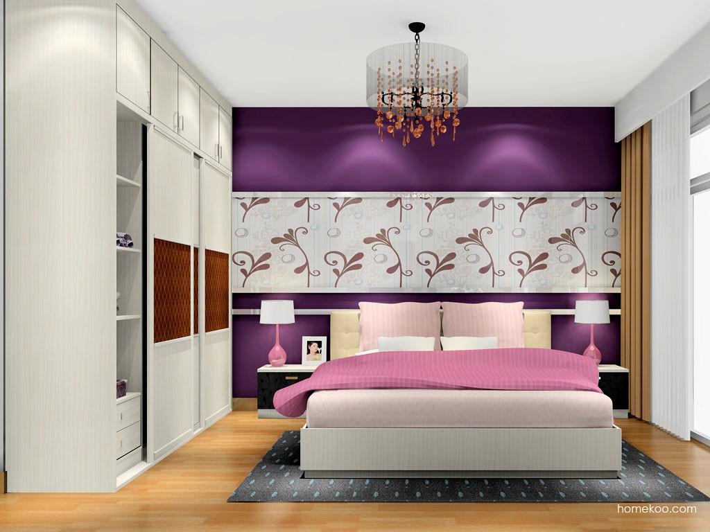 米兰剪影卧房家具A16242