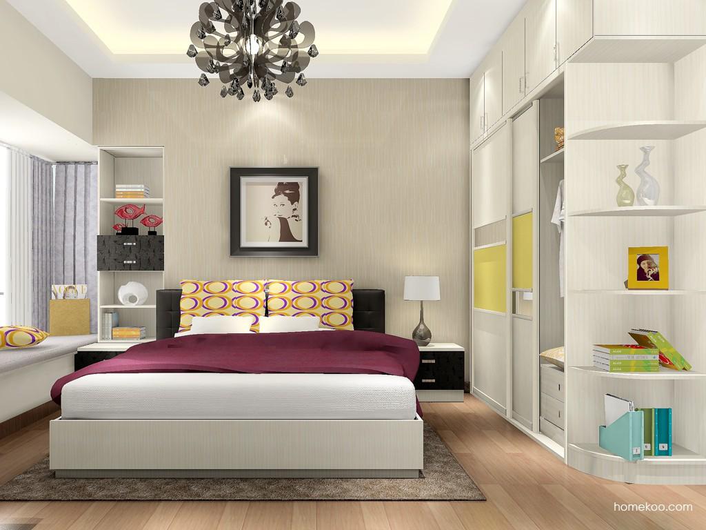 米兰剪影卧房家具A16247