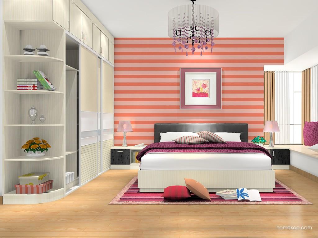 米兰剪影卧房家具A16163