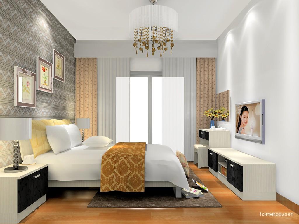 米兰剪影卧房家具A16248