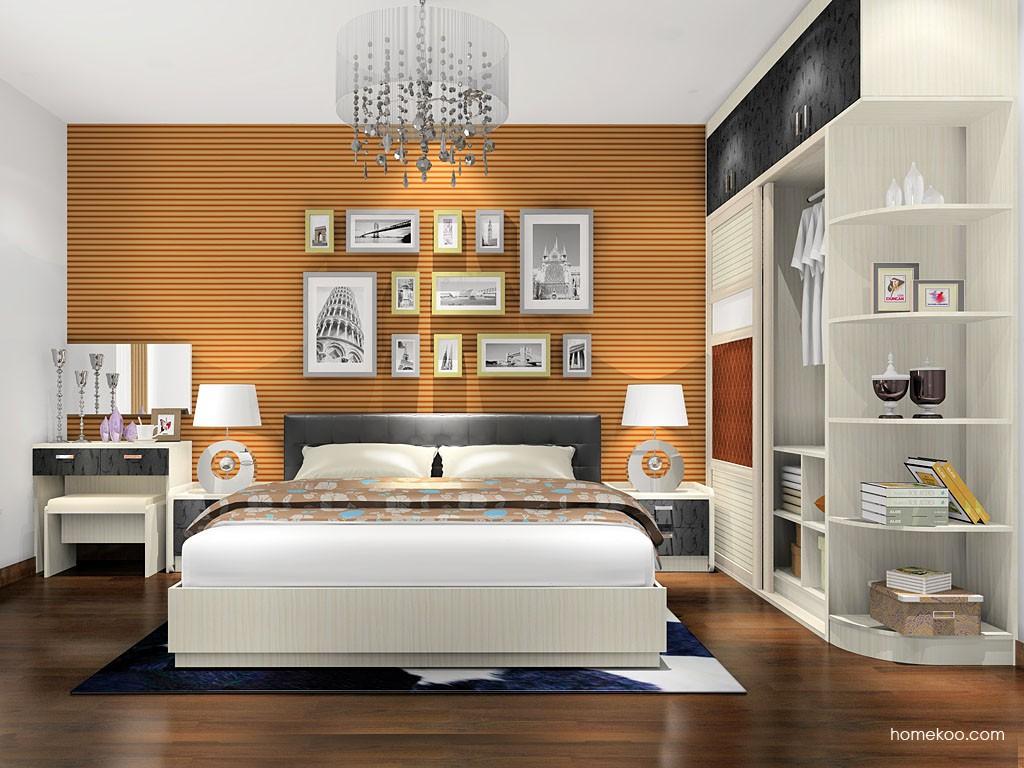 米兰剪影卧房家具A16174