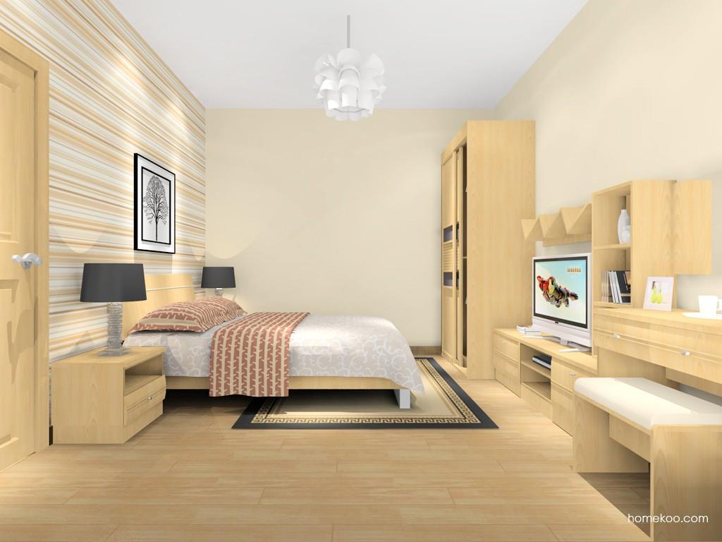 北美枫情卧房家具A16263