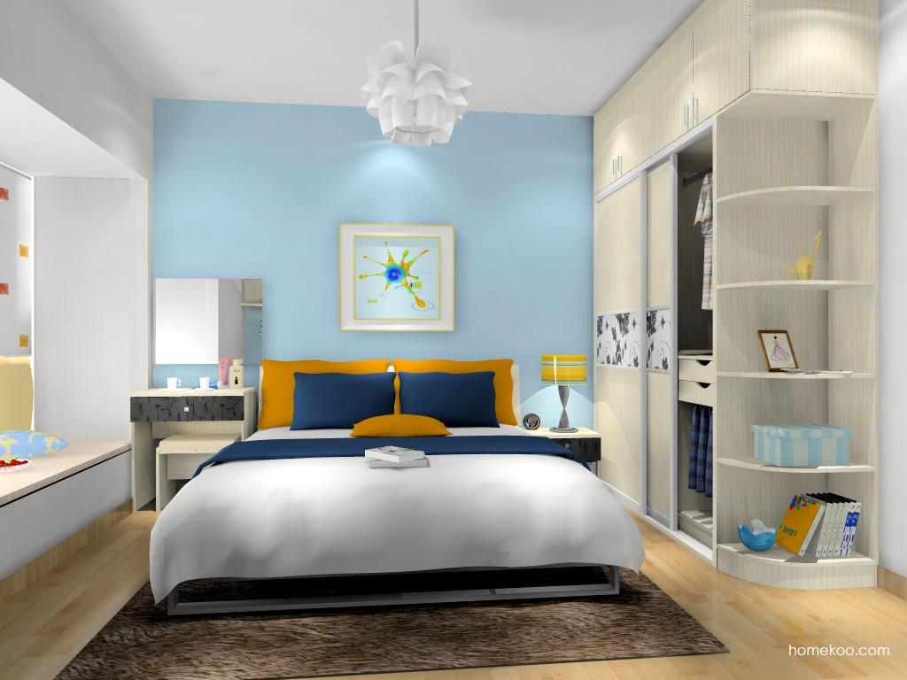 米兰剪影卧房家具A16264