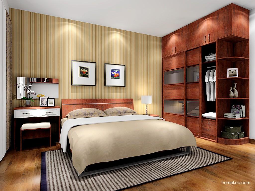 挪威月色卧房家具A16269