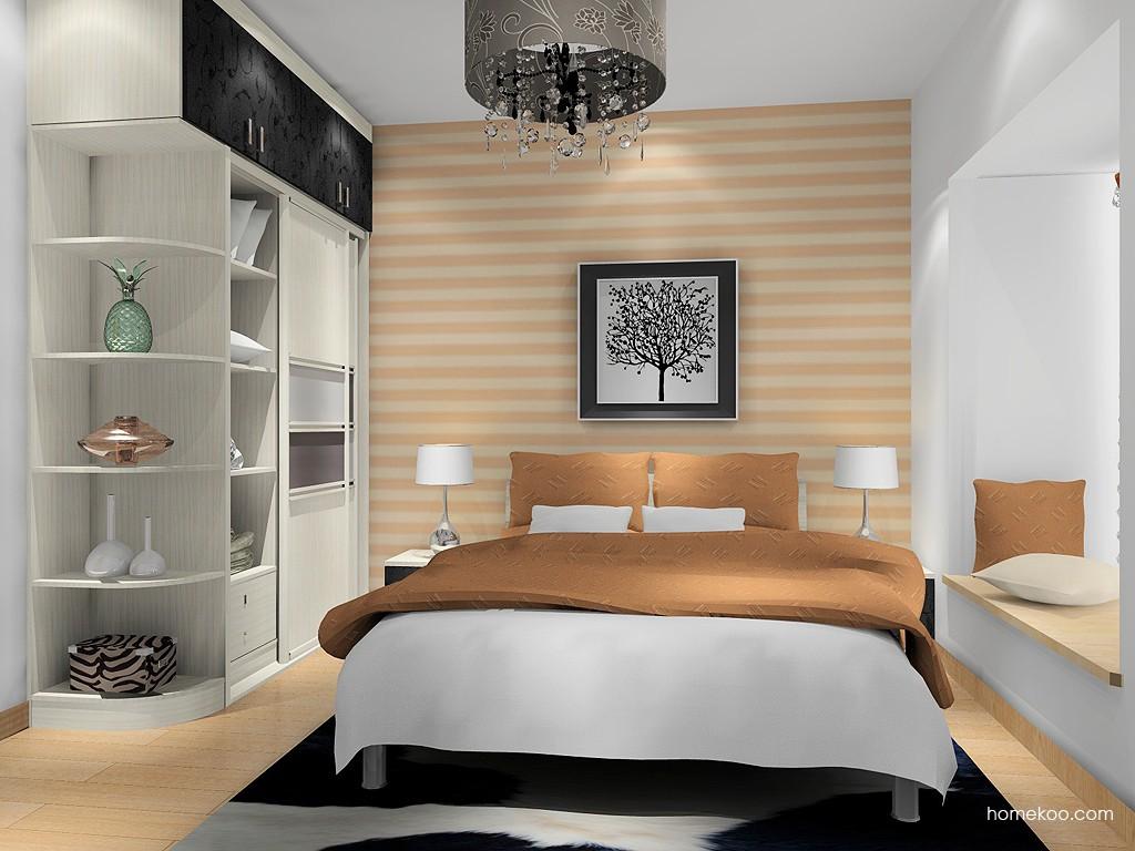 米兰剪影卧房家具A16272
