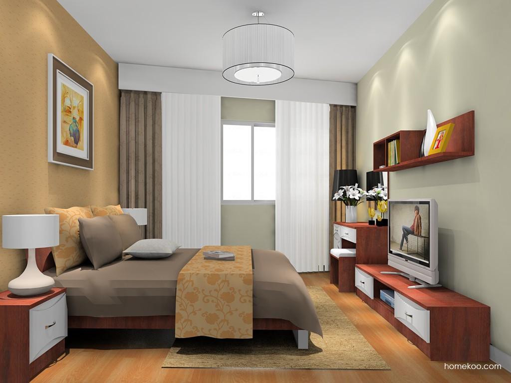 挪威月色卧房家具A16273