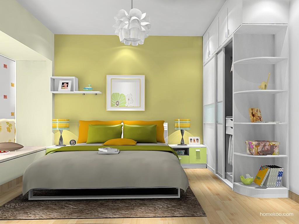 浪漫主义卧房家具A16274