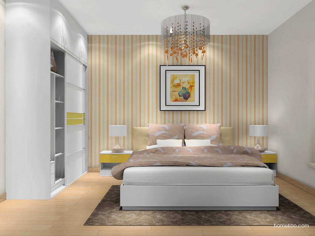 浪漫主义卧房家具A16275