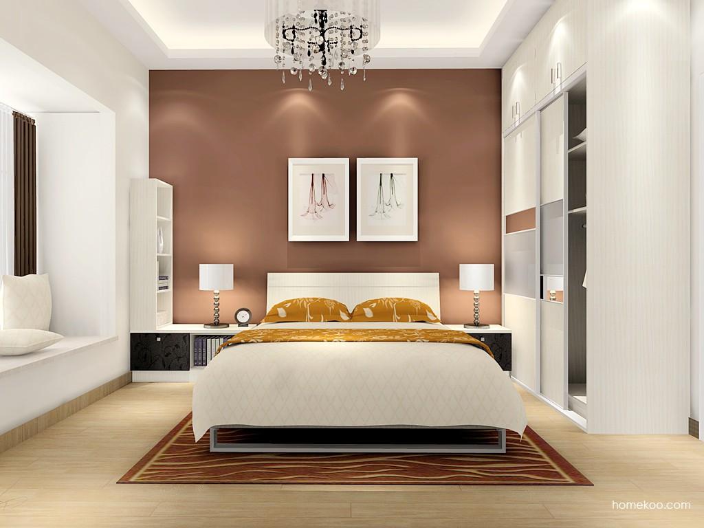 米兰剪影卧房家具A16276