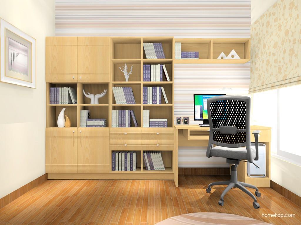 北美枫情书房家具C15530