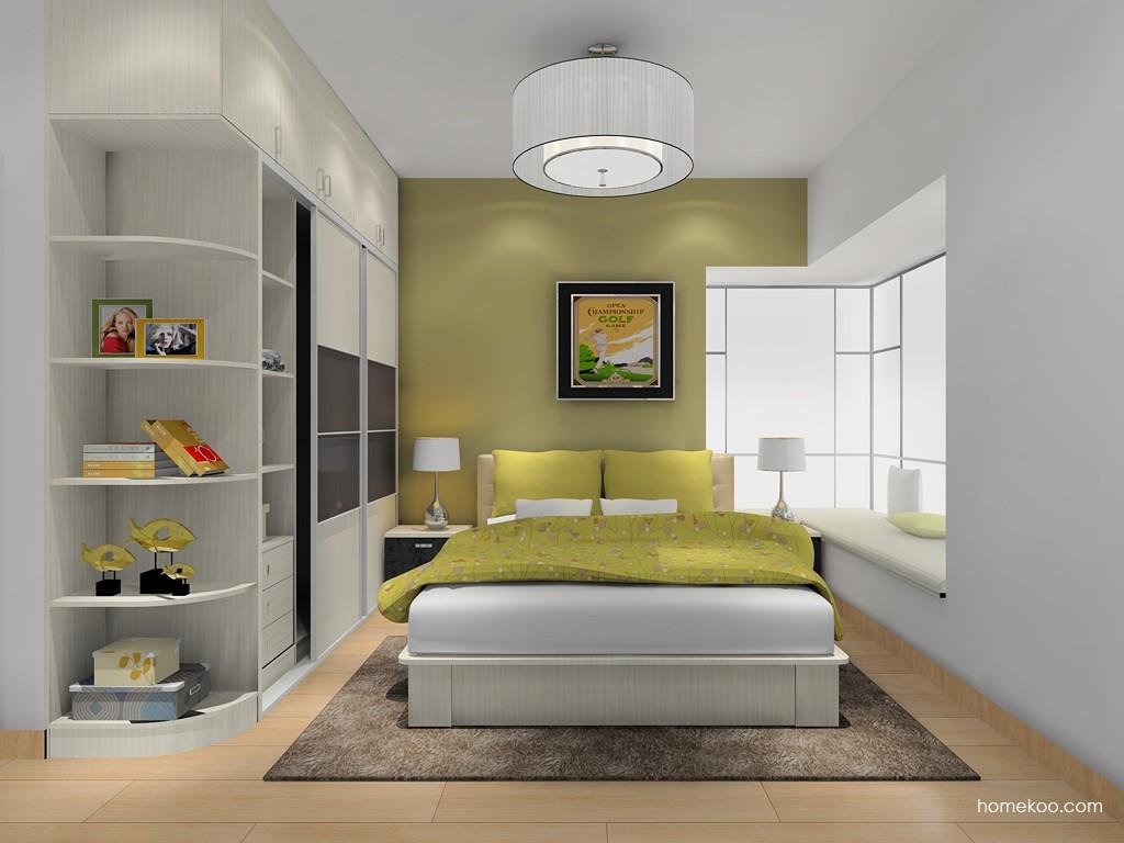 米兰剪影卧房家具A16281
