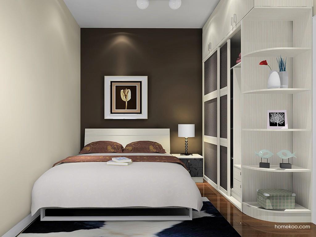 米兰剪影卧房家具A16284