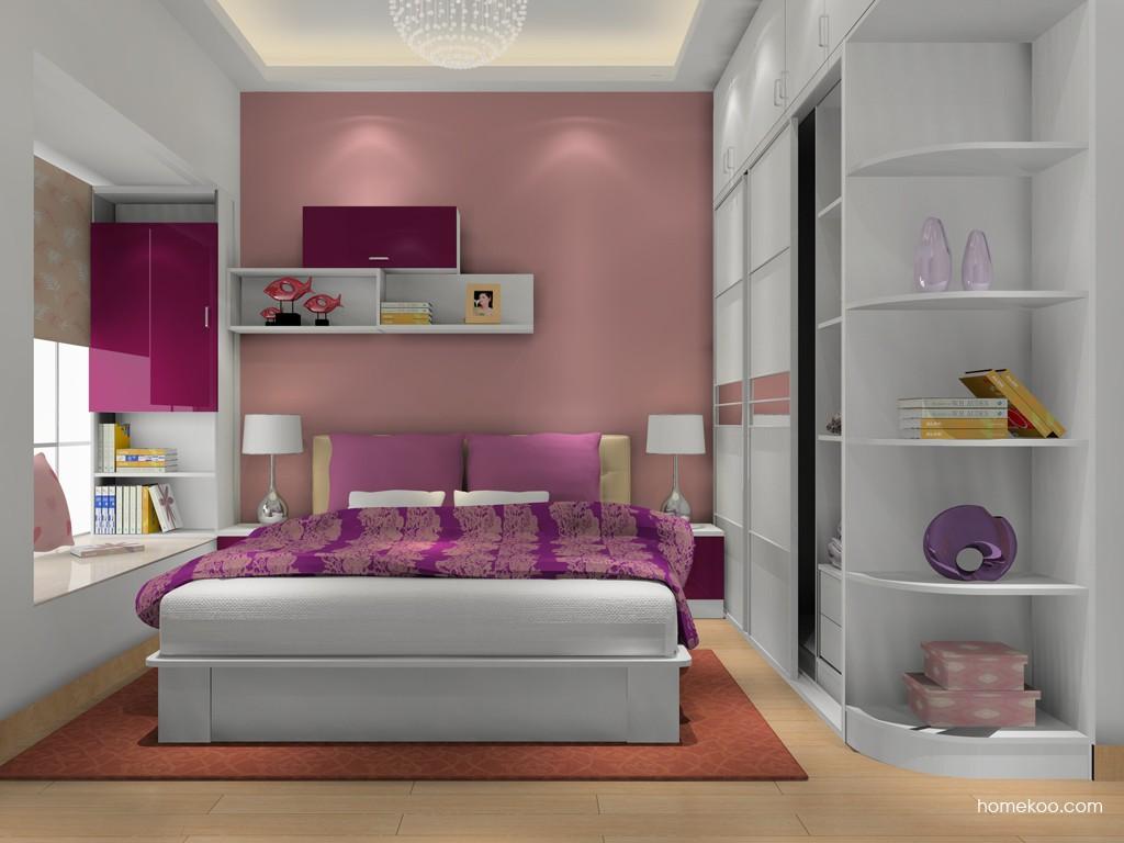 浪漫主义卧房家具A16285