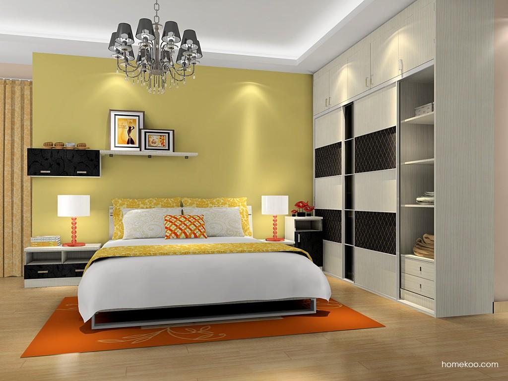 米兰剪影卧房家具A16298