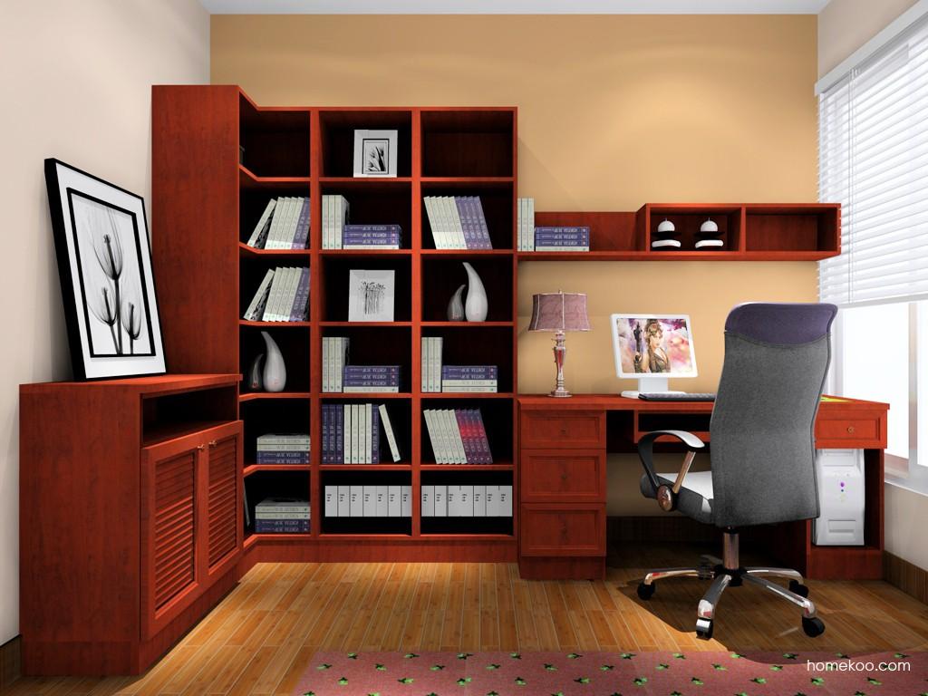 新中式主义书房家具C15534