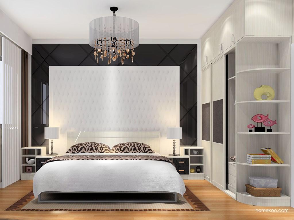 米兰剪影卧房家具A16267