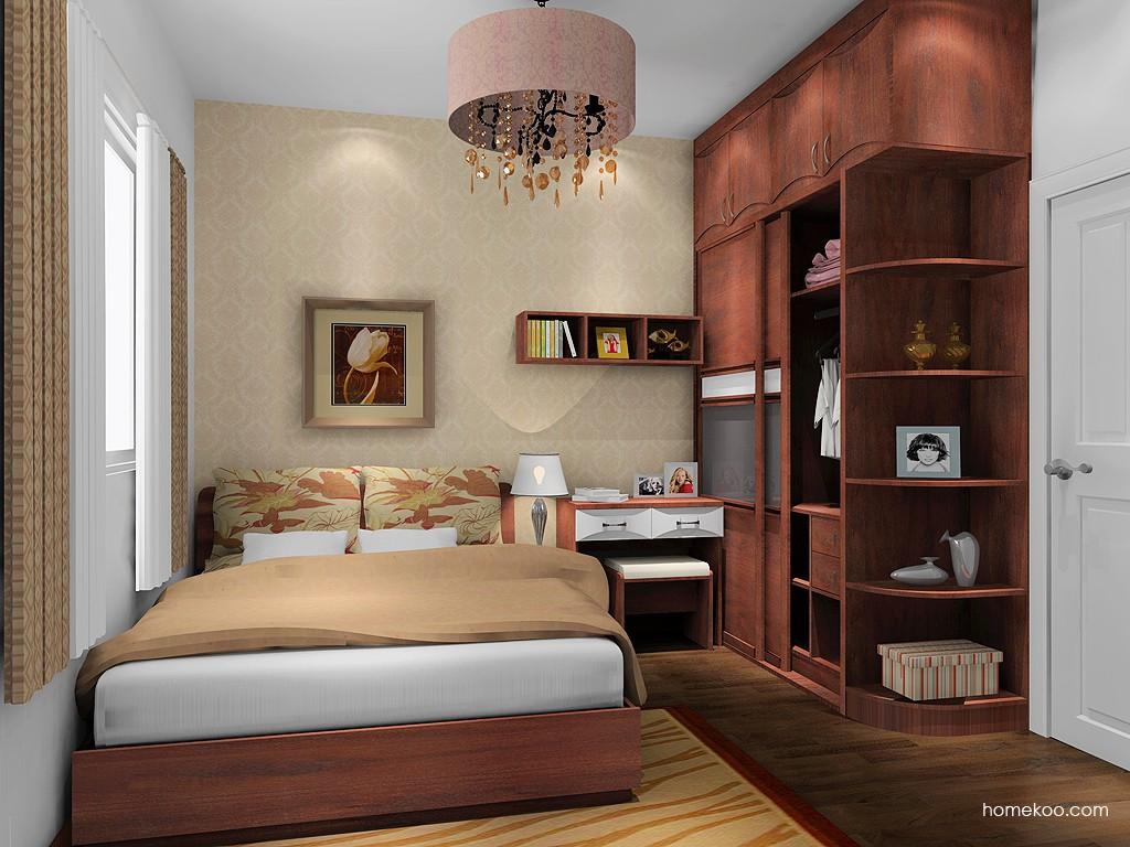 挪威月色卧房家具A16317