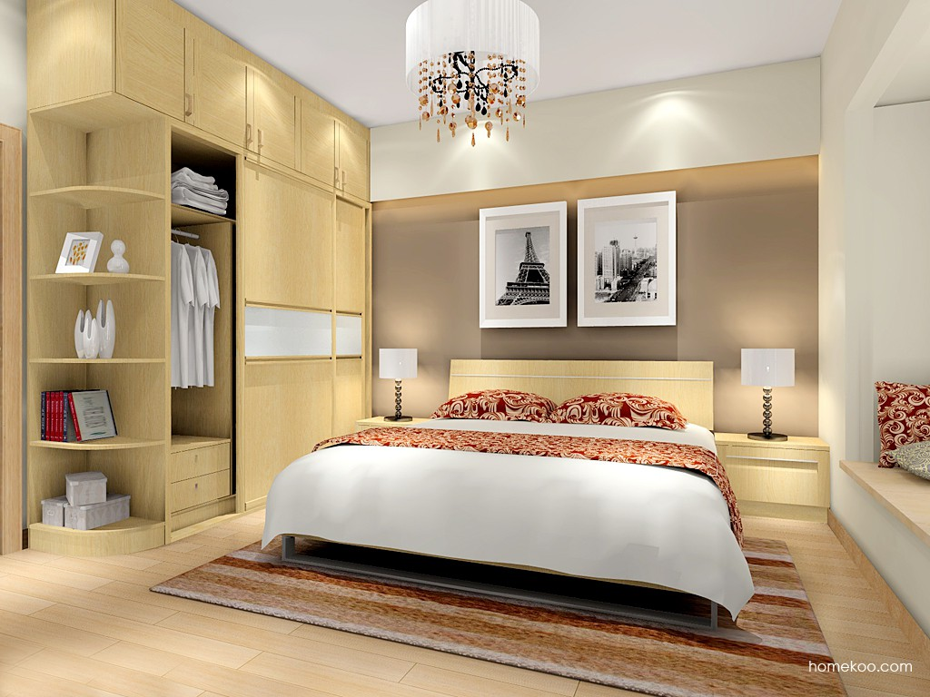丹麦本色卧房家具A16320