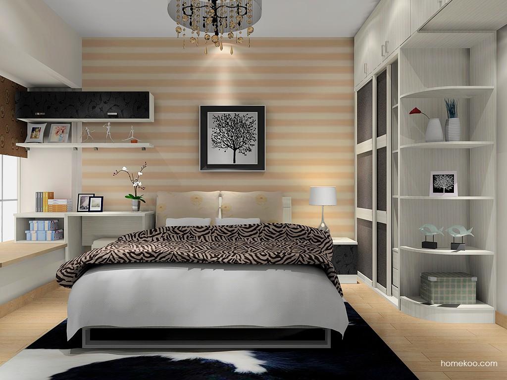 米兰剪影卧房家具A16323