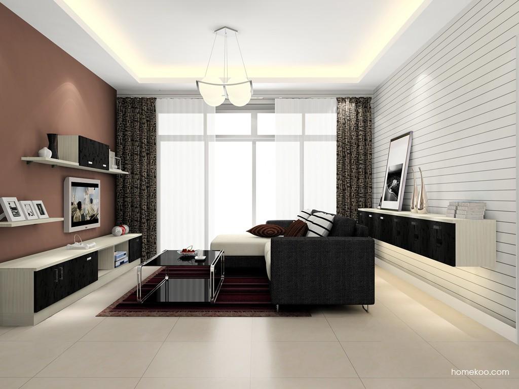 米兰剪影客厅家具D15738