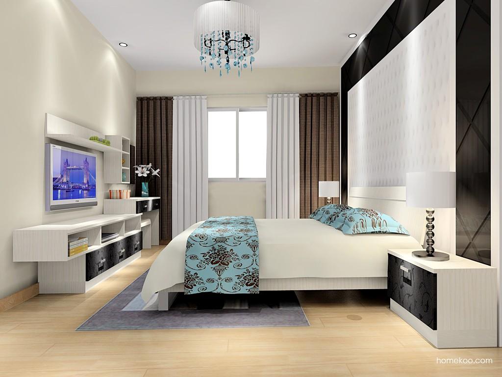 米兰剪影卧房家具A16312