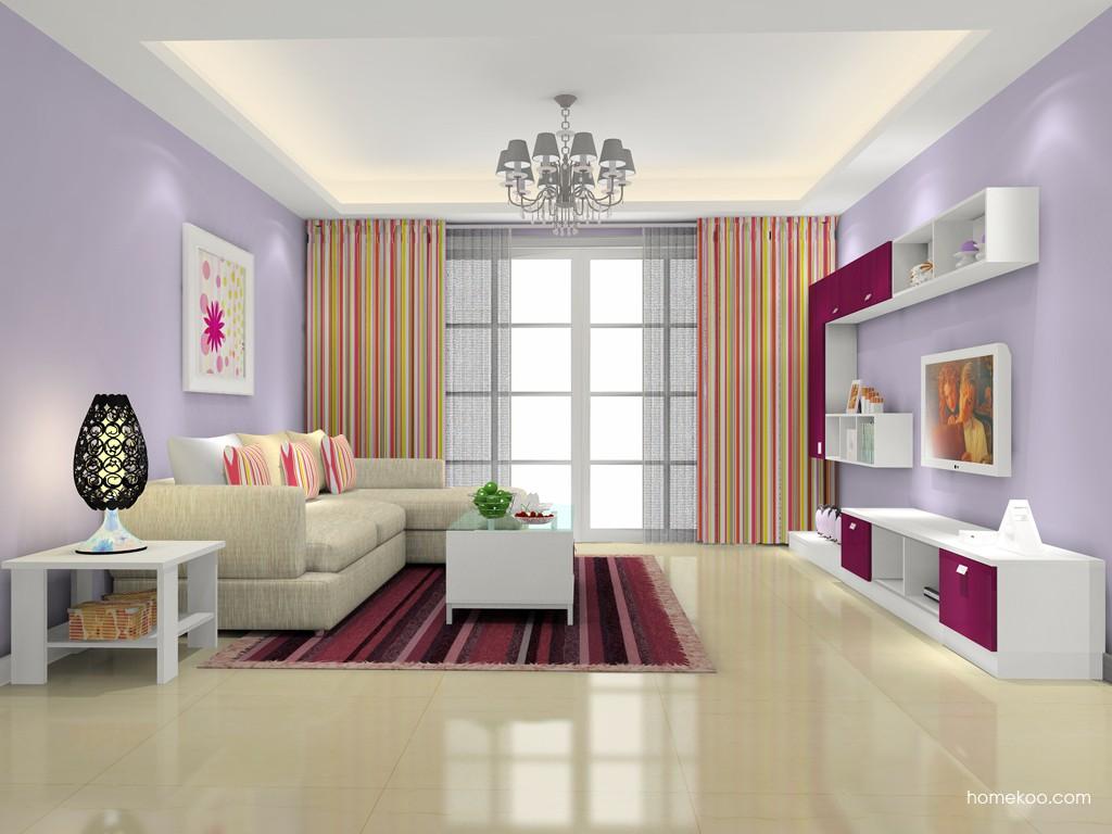 浪漫主义客厅家具D15743
