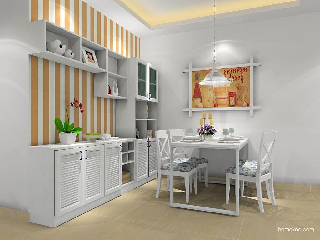 韩式田园餐厅家具E14929