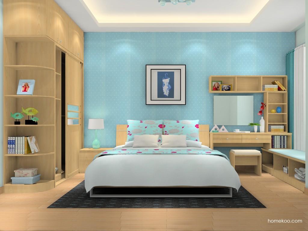 北美枫情卧房家具A16330
