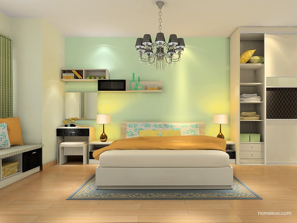 米兰剪影卧房家具A16332