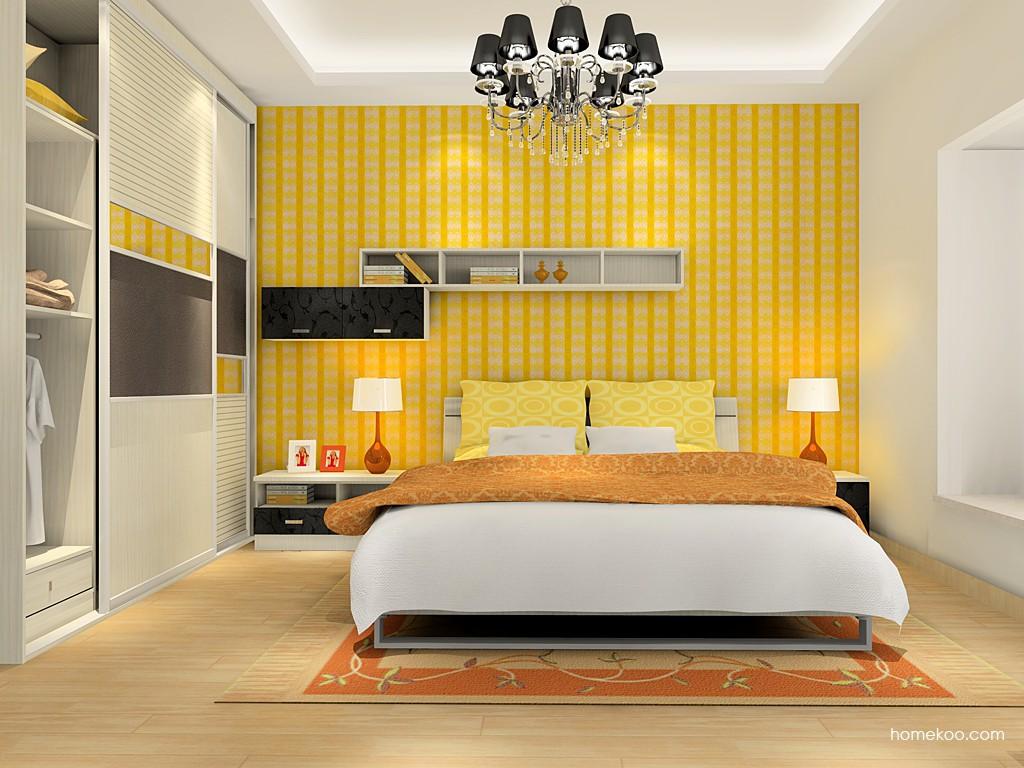 米兰剪影卧房家具A16335