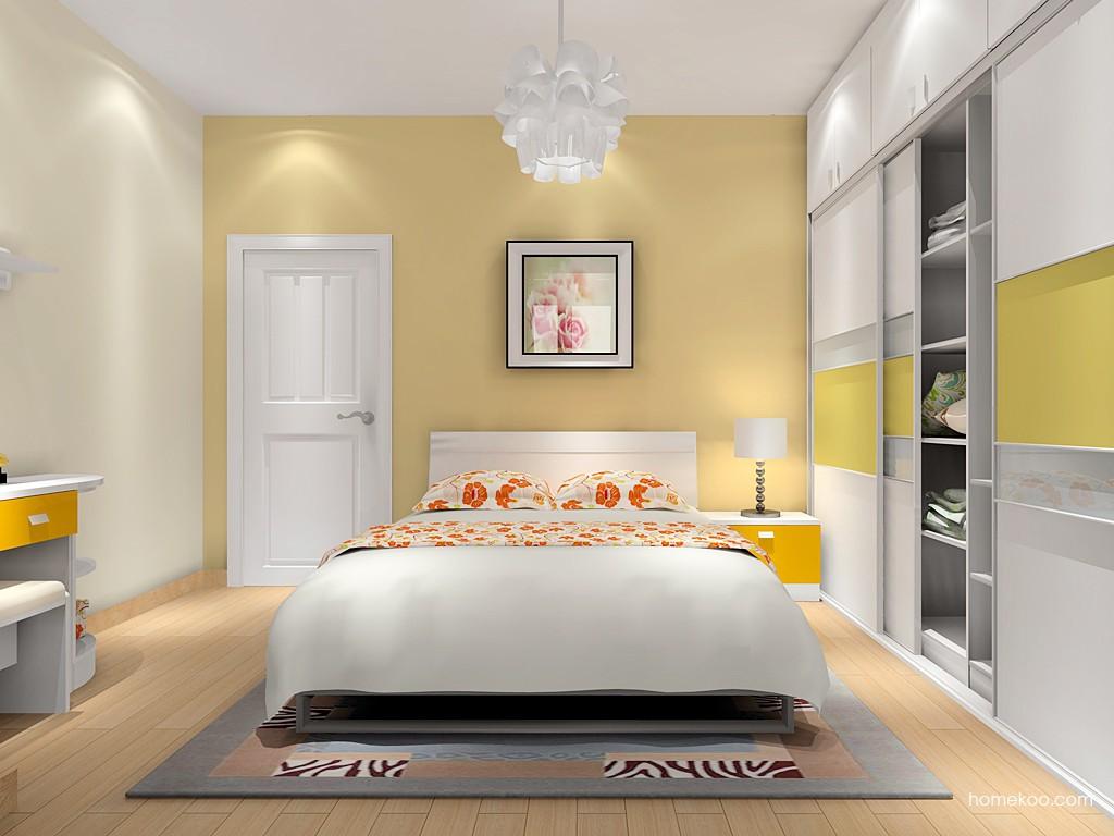 浪漫主义卧房家具A16336