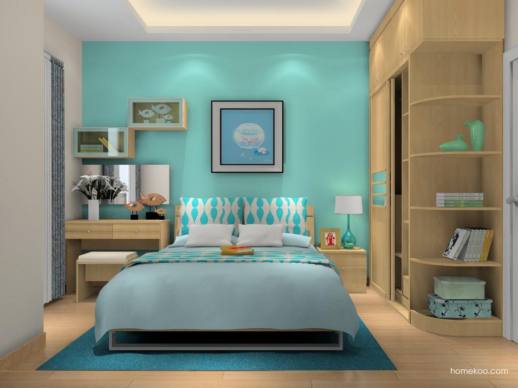 北美枫情卧房家具A16338