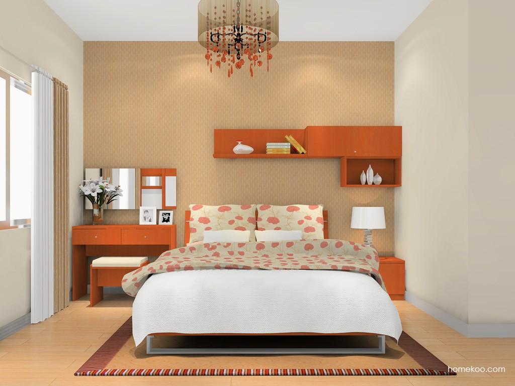 加州梦卧房家具A16358