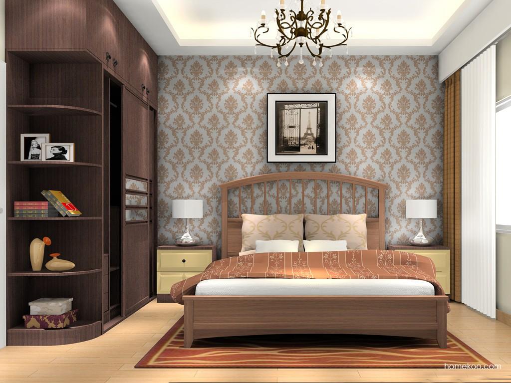 卡罗摩卡卧房家具A16360