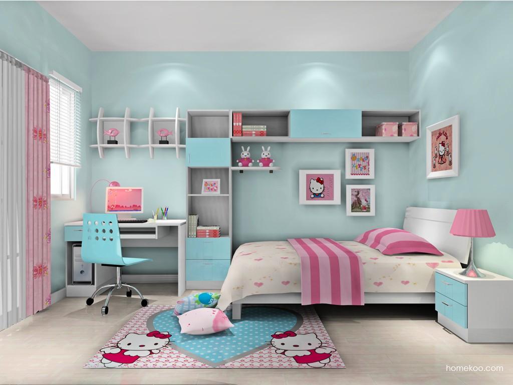 女孩的梦青少年房B16253