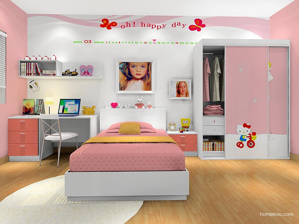 女孩的梦青少年房B16343