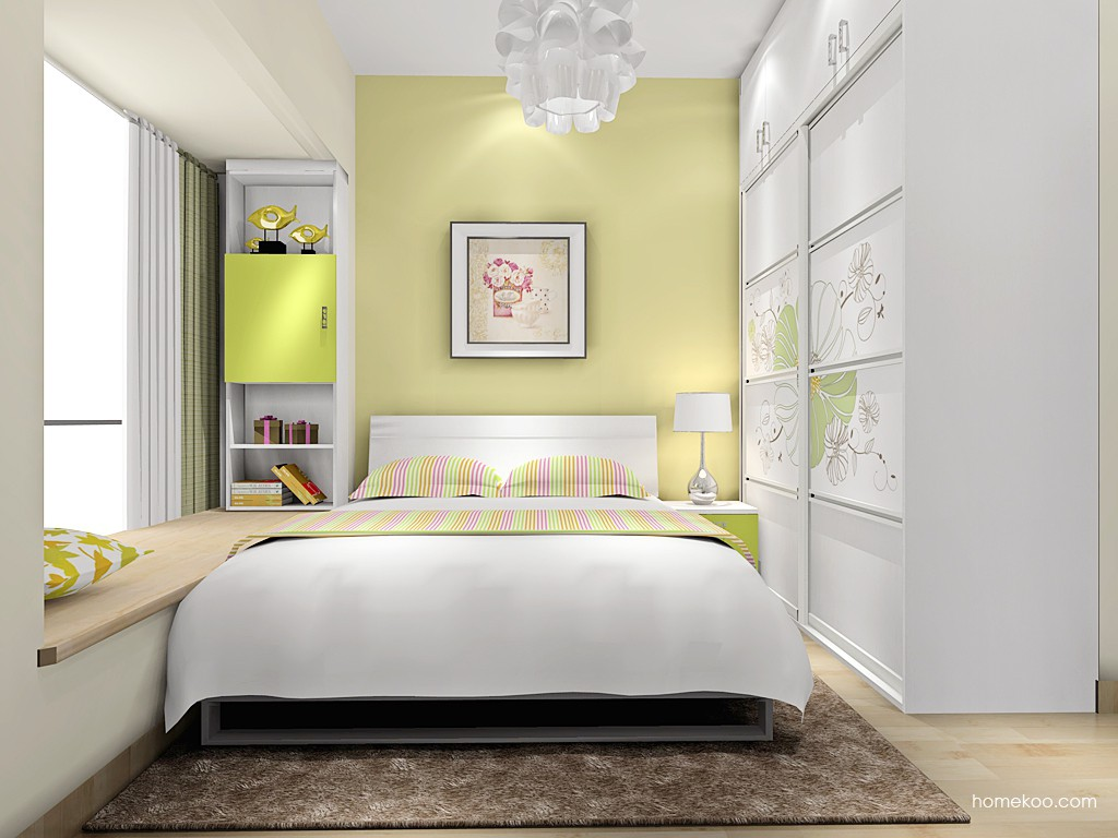 里昂春天卧房家具A16394