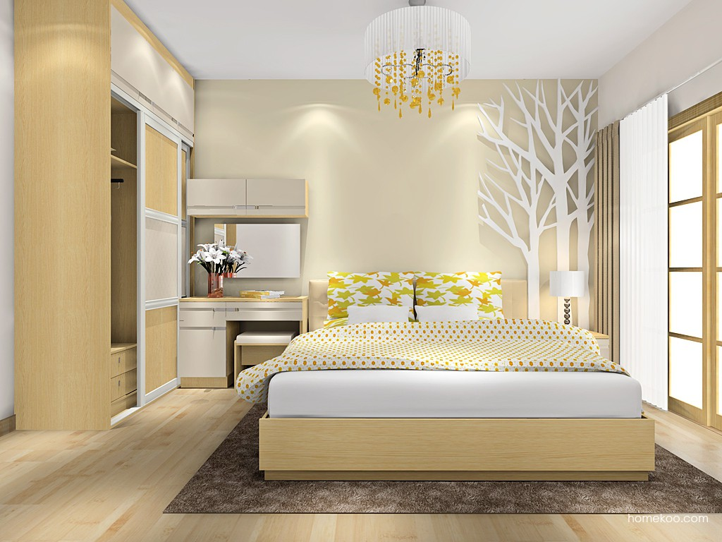 丹麦本色II卧房家具A16405