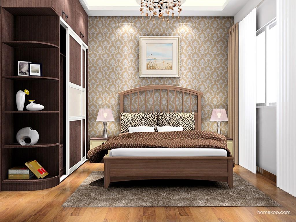 卡罗摩卡卧房家具A16440
